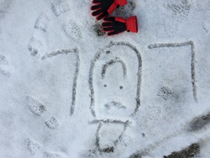 Luca's snow message